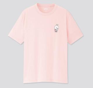 UNIQLO 优衣库 x LINE FRIENDS联名款 427528 中性短袖T恤