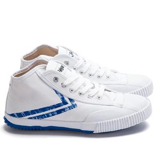 FEI YUE 飞跃X百事可乐联名款 504 中帮帆布鞋 白色 34