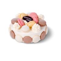 京东PLUS会员:Best Cake 贝思客 马卡龙の吻蛋糕 450g