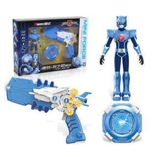 JUMPGO 展高 【弗特光之枪套装】(3件套) 蓝色