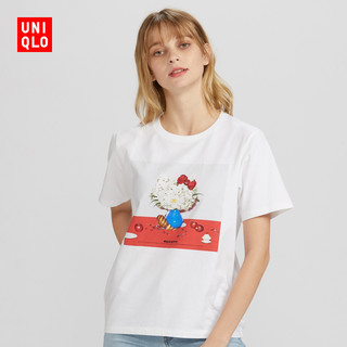 UNIQLO 优衣库 424815 女装 (UT) H KITTY x YUNI 印花T恤