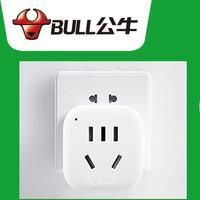BULL 公牛 无线一转一插座排插