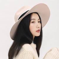 YANXUAN 网易严选 女式100%羊毛毡大檐帽