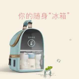babycare妈咪包 妈妈保温储奶包 便携式蓝冰母婴包  5060摩洛蓝