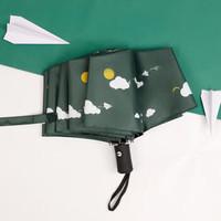 馨沐鱼 小清晰纸飞机折叠伞