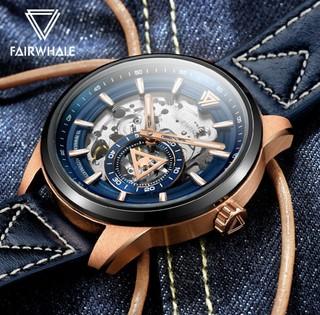 MARK FAIRWHALE 马克华菲 FW-6240-1 男士自动机械手表