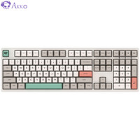 AKKO 9009Retro机械键盘 游戏办公 有线 电竞 吃鸡 PBT热升华 Cherry樱桃轴 茶轴