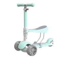 巨森 儿童滑板车 三合一可调闪光轮
