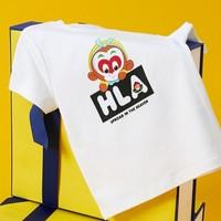 HLA 海澜之家 大闹天宫系列 HNTBJ2R932A 儿童款短袖