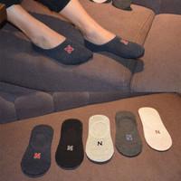 群鹊  男士船袜  10双装(划算)