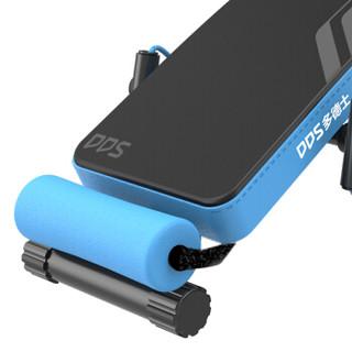 多德士(DDS)折叠仰卧板 多功能仰卧起坐板 健身器材家用运动辅助器健腹肌板健身板