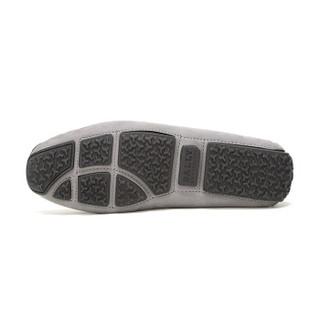 BALLY 巴利 男士灰色皮质商务皮鞋 PICO 15 6225967 6/40码