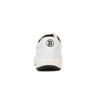 BALLY 巴利 女士白色皮质系带运动鞋板鞋 NEW COMPETITION-W/07 6221391 5/38码