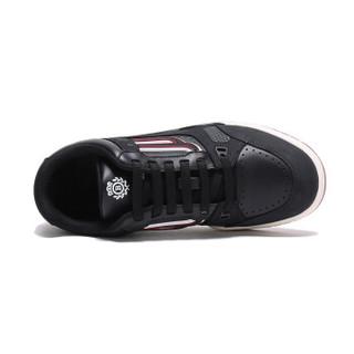BALLY 巴利 男士黑色皮质运动鞋 KUBA T 00 6226045 7/41码