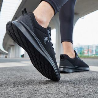 乔丹 男鞋舒适透气轻便跑步鞋 XM3590228 黑色 42