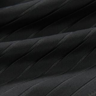 弈姿EZI温泉泳池专业运动竞技速干抗氯男平角泳装游泳裤8080 黑色 XL