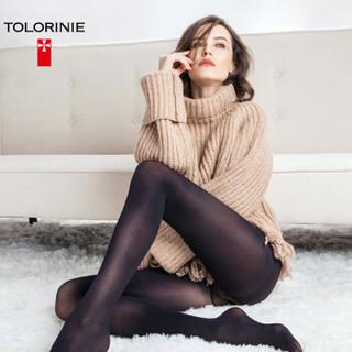 TOLORINIE 连裤袜 80D后加裆天鹅绒连裤袜春季打底袜子薄丝袜女 3双装混色均码 K1059