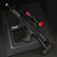 卡高 儿童电动声光音乐玩具枪