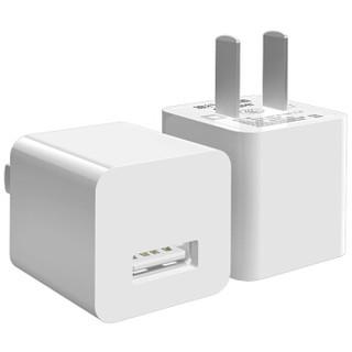 凯普世 苹果充电器套装 1A手机充电头+苹果数据线1.2米黑 适用iPhoneXS/max/XR/8/7Plus/6s/5