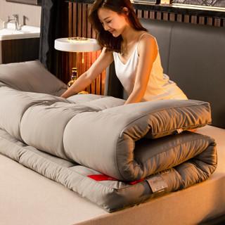 南极人NanJiren 加厚床垫床褥子 磨毛立体羽丝绒软垫 双人榻榻米垫子可折叠垫被 1.5米床