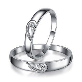 一搏千金(YBQJ)EG009 18K金男6分女6分 钻石对戒 钻戒 结婚戒指 钻石婚戒 订婚戒