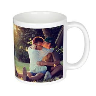 亮丽 ( SPLENDID )定制照片水杯 创意生日礼物情侣水杯