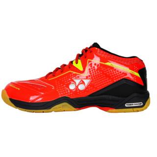 尤尼克斯YONEX羽毛球鞋减震防滑耐磨男女运动鞋SHB-750CR-001 红色39码