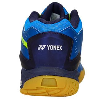 尤尼克斯YONEX羽毛球鞋减震防滑耐磨运动鞋SHB-750CR-002 蓝色45码