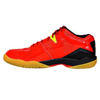 尤尼克斯YONEX羽毛球鞋减震防滑耐磨男女运动鞋SHB-750CR-001 红色44码