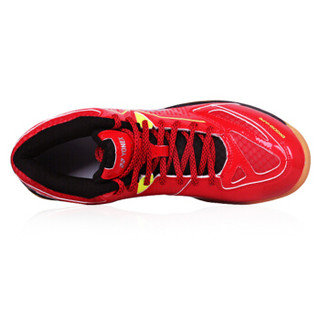尤尼克斯YONEX羽毛球鞋减震防滑耐磨男女运动鞋SHB-750CR-001 红色37码