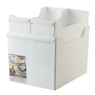 优思居 抽屉式厨具收纳盒 橱柜窄柜子收纳筐储物盒厨房锅具整理筐