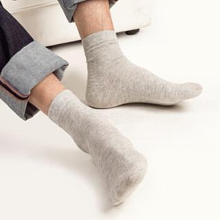 TOLORINIE 铁洛尼 19夏季休闲袜子男 精梳棉商务男袜 四季透气吸湿排汗薄款中筒袜