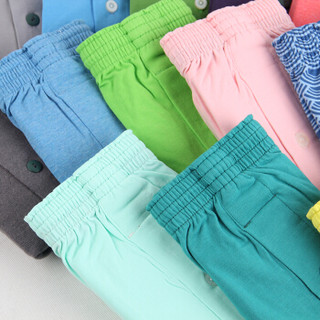BXMAN宽松男士内裤男平角裤纯棉针织阿罗裤加大码舒适四角裤 颜色随机发 180XL