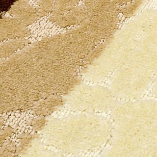 素雅特【2条装】欧风家园防滑地垫门垫脚垫 40*60cm 米咖贝壳