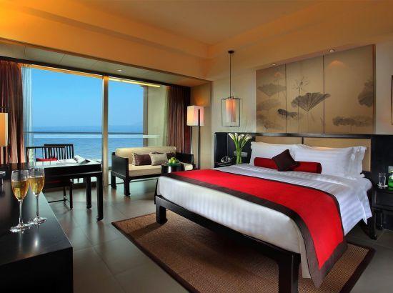 12月旺季不加价!三亚湾海居铂尔曼度假酒店全海景房 2晚连住早餐2份