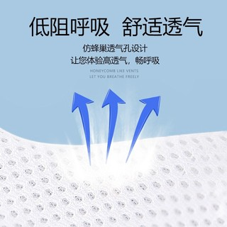 iChoice 一次性三层含熔喷布口罩 100只装 *2件