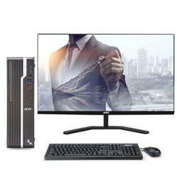 Acer 宏碁 商祺SQX4270 666N 台式电脑整机 (酷睿i5 8G 1T GT730 2G独显)23.8英寸