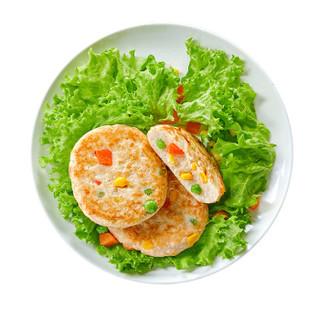 正大(CP) 蔬菜鸡肉饼 720g 出口级鸡胸肉 减脂代餐 健身食材 方便菜 *9件