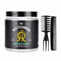 美国TheWatchman守望者发油男士强力定型发蜡发泥水基背头油头膏 SUPERHOLD POMADE