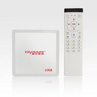 迪优美特(Diyomate)X800网络机顶盒 4k电视盒子2+16G智能语音遥控 无线wifi高清播放器