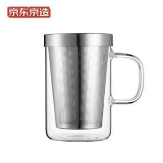 J.ZAO 京东京造 JZ-CJ03 玻璃茶杯 500ml