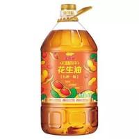 金龙鱼 食用油物理压榨压榨一级花生油 4L *2件