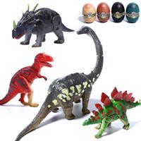 活石 儿童玩具恐龙 四只装