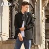 爱肯Aiken森马旗下品牌2018年秋季男装外套AK317071032黑色S