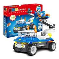 布鲁可 儿童大颗粒积木玩具 鲁鲁百变高空作业车 *2件 +凑单品