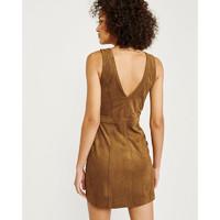 Abercrombie&Fitch女装 纽扣式无袖连衣裙 301322-1 AF