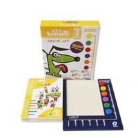 韵琇逻辑狗1-4阶段3-7岁幼儿园早教材家庭全套(带操作板) 1阶段