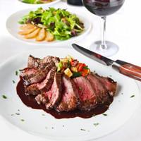 奔达利 澳洲谷饲眼肉牛排 720g(4片)+ 祁连牧歌 醇厚安格斯西冷牛排500g(2片)
