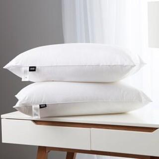 康尔馨 世茂希尔顿酒店授权五星级酒店枕头枕芯纯棉成人家用单人一对拍2 白色 74*48一只装