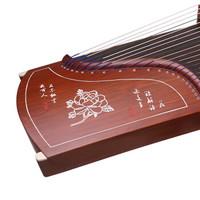 摩里恩(molien)古筝 手工雕刻系列专业演奏考级初学古筝 红檀解语花 163cm